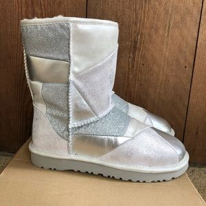 Ugg Australia Glitter Patchwork Fashion Boot